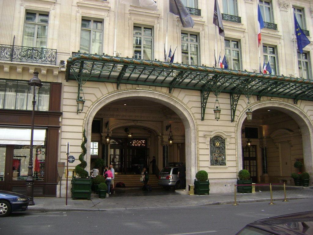 Intercontinental paris le grand h tel par s francia for Le grand hotel