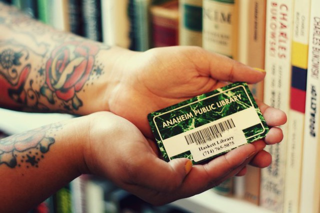 September is Sign Up For A Library Card Month