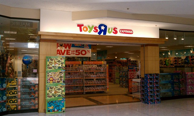Toys R Us Mall : Toys quot r us express merle hay mall des moines iowa
