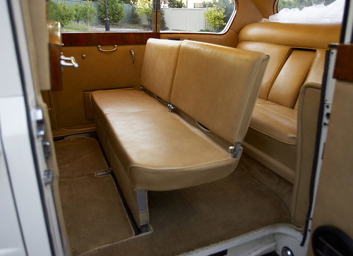 The interior of the Princess Classic Car.