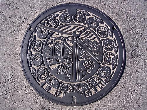 Kibi Wakayama,manhole cover(和歌山県吉備町のマンホール)