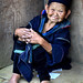 Elderly Hmong Woman