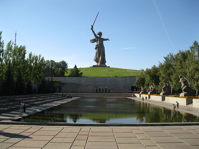 Mamayev Kurgan, Volgogrado, Rusia.