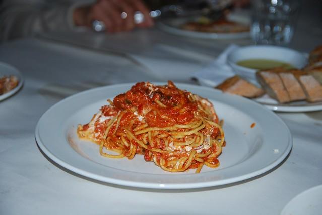 Spaghetti benefit