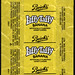 Beich's Laffy Taffy Banana candy wrapper - 1980's 1990's