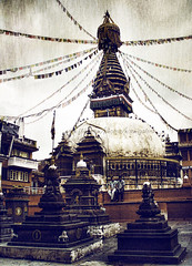 temple, landmark, place of worship, stupa,