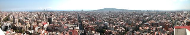 Barcelona desde la torre banco sabadell blog banco sabadell for Oficina correos sabadell