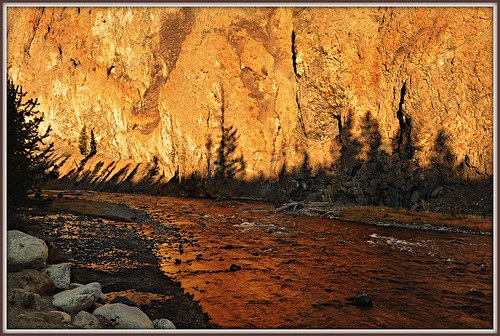 Firehole River Dawn
