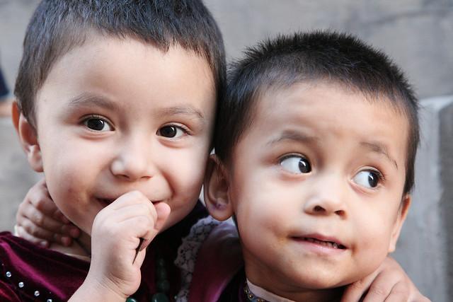 カシュガルの子どもたち