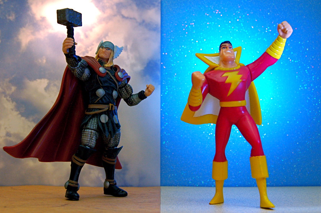 Thor vs. Captain Marvel (277/365)