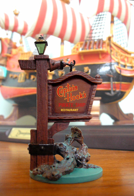 Disneyland Pirate Ship Restaurant Replica