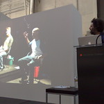 Eddo Stern discusses Tekken Torture Tournament at Art Center Media Design Program Design Dialogues