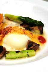 Sous Vide egg and asparagus - DSC_3067
