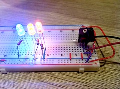 pink(0.0), breadboard(1.0), circuit component(1.0),