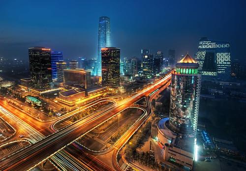 Bustling Beijing