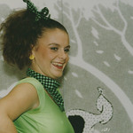 Dancer / Singer - London 1991 : Photoshow '91 : Sigma APO 70 - 210 mm F4 - 5.6 Zoom Lens : Fujicolour 400 Film :