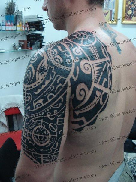 Polynesian tattoo 2 01 tattoo designs tattoo designs for men