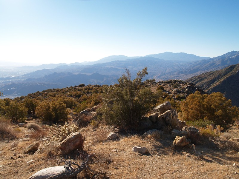 Yet another nice view, looking south, toward Santa Rosa Mountain and Toro Peak