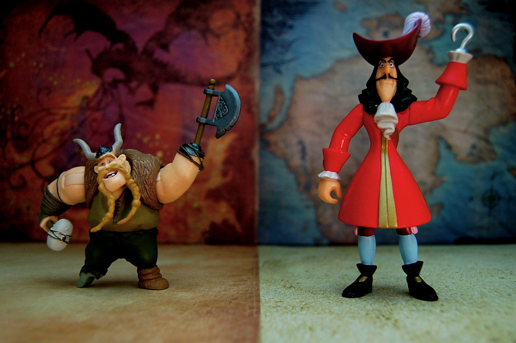 Gobber vs. Captain Hook (285/365)