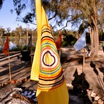 A meeting of the 13 Clan Mothers on the River Murray