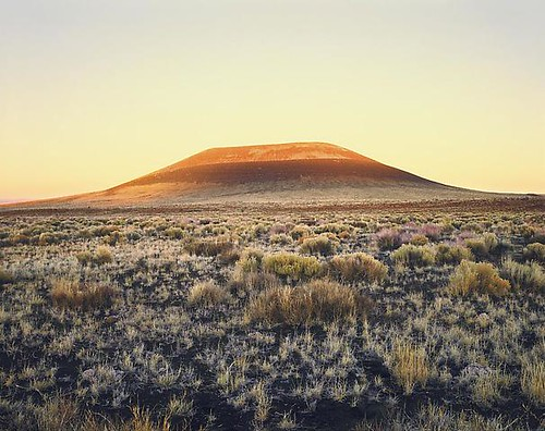 Roden Crater (sunset).