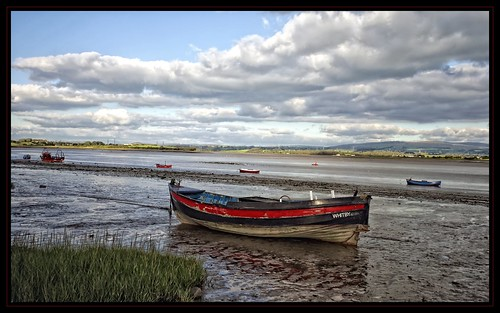 england boats lancashire whitby lancaster tidal cloudscape lindisfarne troughofbowland sunderlandpoint riverlune samyork