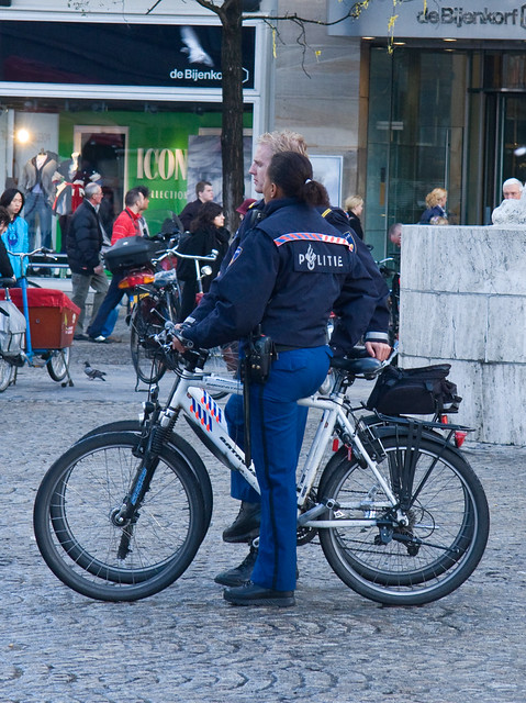 Amsterdam Cycle Chic - Police