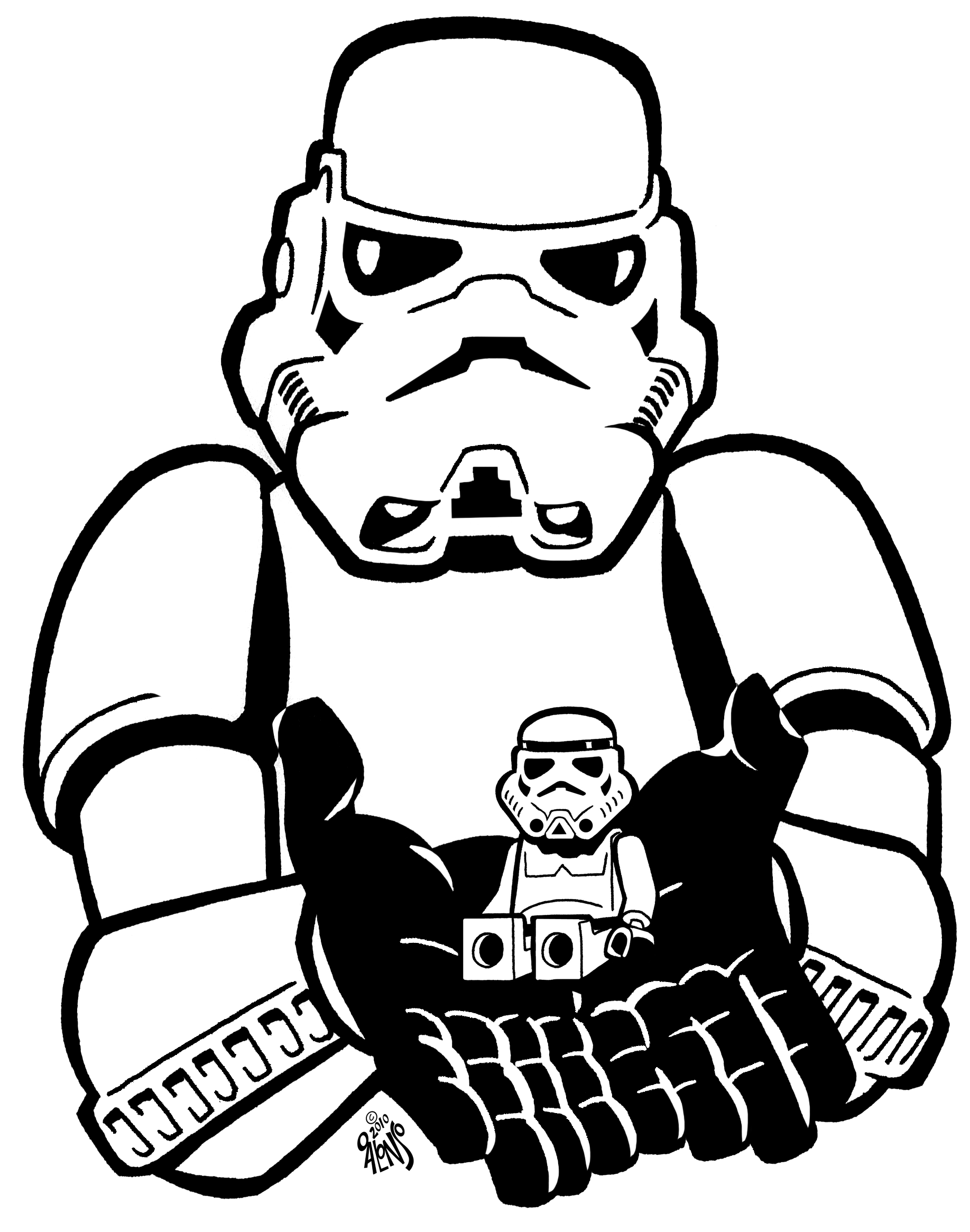 shock troopers coloring pages - photo#23