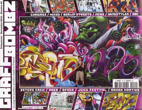 Pencil-Blef-Chas on the Graffbombz's cover