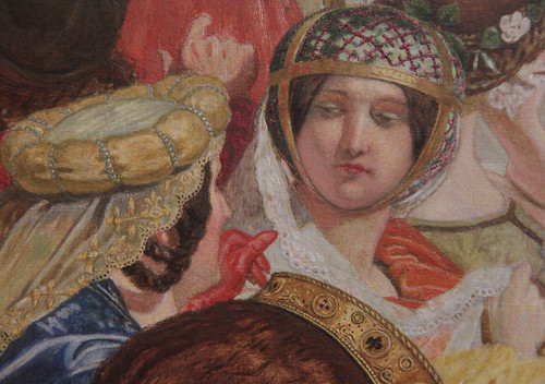 Part of Chaucer at the Court of Edward III, Ford Madox Brown, 1858-68