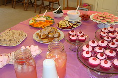 Party food for a PINK party
