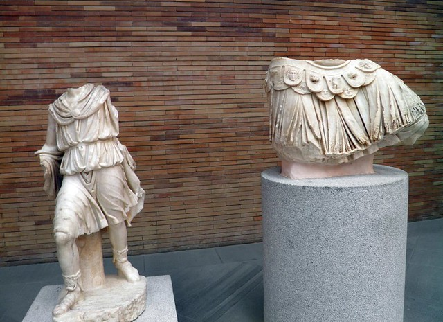 Aeneas Group, National Museum of Roman Art, Augusta Emerita