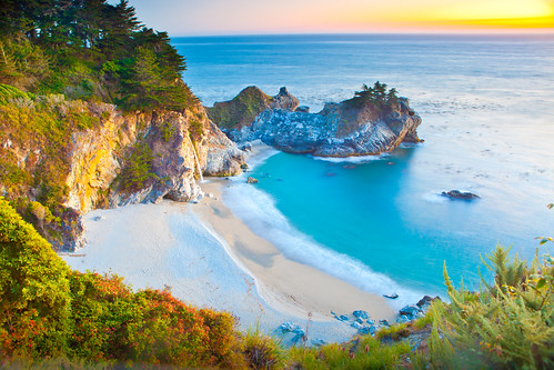Sunset a Big Sur