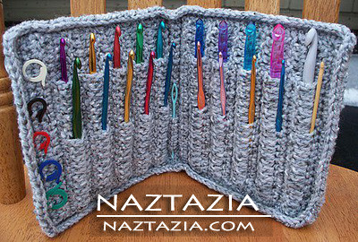 Crochet I Hook : Crochet Hook Case Holder (FREE Pattern) Flickr - Photo Sharing!