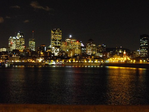 Montreal at night