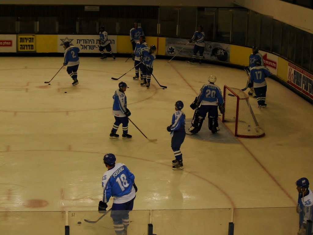 Usa Wins First Ever World Jewish Ice Hockey Tournament Flickr