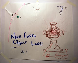 Near Earth Object Lamp