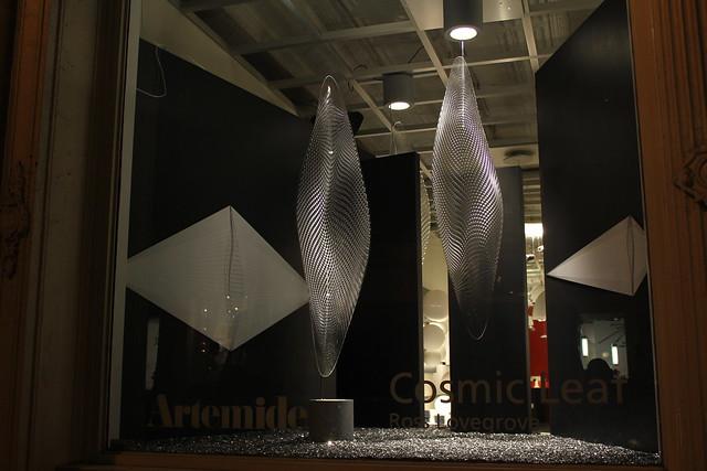 artemide cosmic leaf storefront featuring cosmic leaf. Black Bedroom Furniture Sets. Home Design Ideas