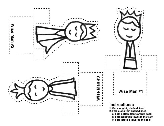 Wise Men Template | Flickr - Photo Sharing!