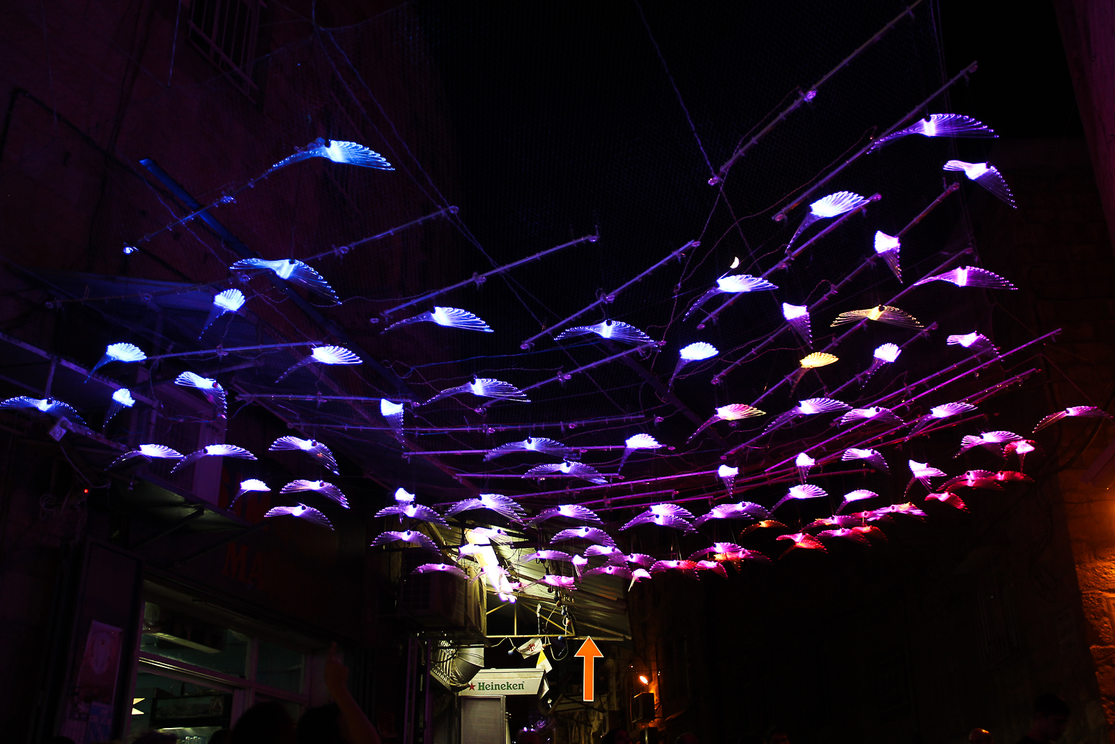 """Fly,"" Jerusalem Festival of Light 2017"