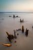 Long exposure at Ft Morgan beach, AL by Devin Andrew Buenger