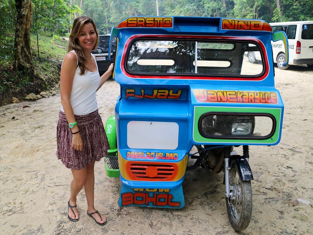 Triciclo en Filipinas
