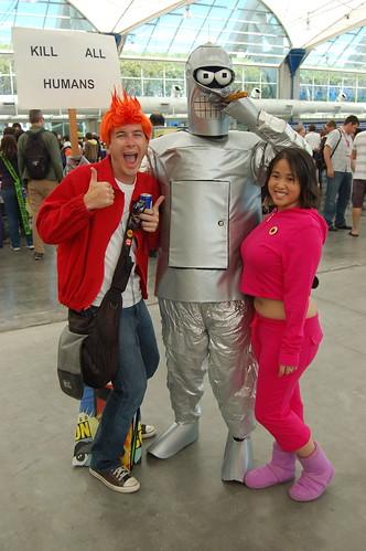 Comic Con 2010: Futurama Crew