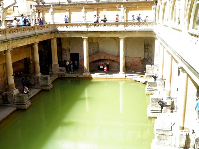 The Great Bath, Roman Baths, Bath