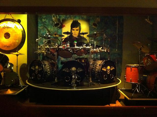 The Revs Drumset Hard Rock Cafe