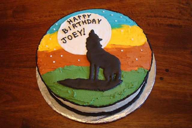 Wolf cake by Michelle B Flickr - Photo Sharing!