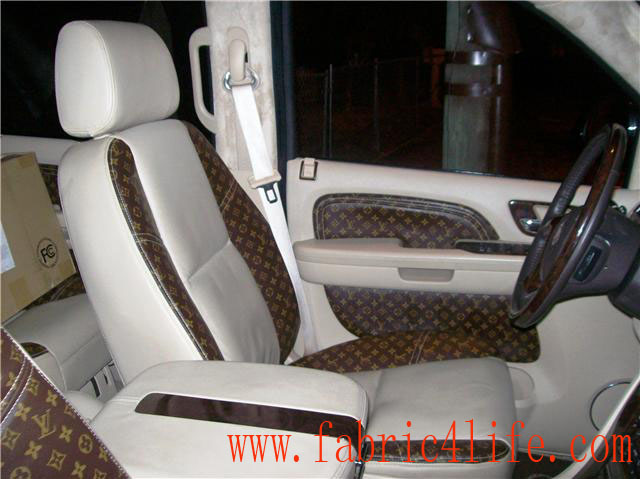 Louis Vuitton Car Seat Covers