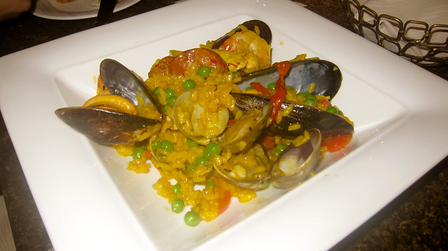 Seafood Paella | Yew Restaurant and Bar