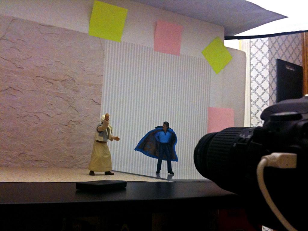 Sallah Mohammed Faisel el-Kahir vs. Lando Calrissian Setup