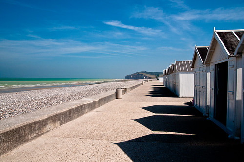 Beach huts - Quiberville-Plage, Quiberville, France
